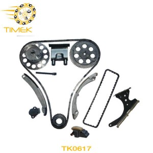 TK0617 Isuzu Ascender 4.2L 256Cu. In.I6 GAS DOHC Superior Quality Timing Chain Replacement Kit with VVT Gear
