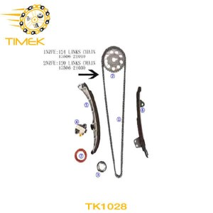 TK1028 Toyota 1NZ-FE 1.5L Echo Plate New Tensioner Kit Car spare parts from China Supplier